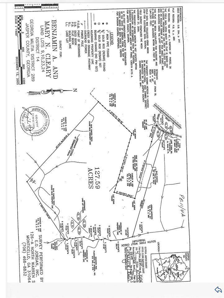 0 Lane Farm Rd, Monticello, GA 31064 - MLS#: 8979928