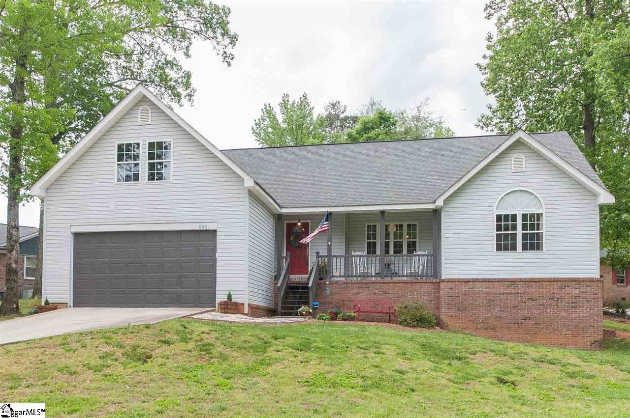 Photo for 505 Leyswood Drive, Greenville, SC 29615 (MLS # 1417212)