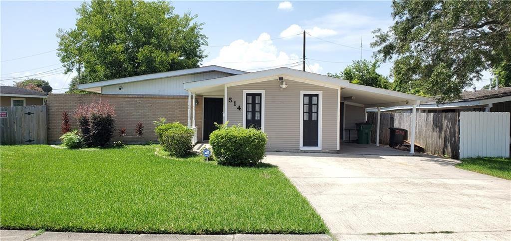 514 DIPLOMAT Street, Terrytown, LA 70056 - #: 2268295
