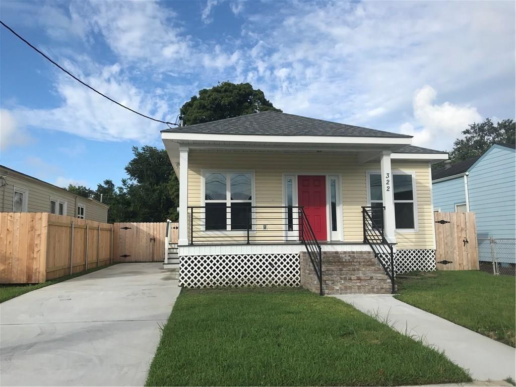 322 WALLACE Drive, New Orleans, LA 70122 - MLS#: 2267314