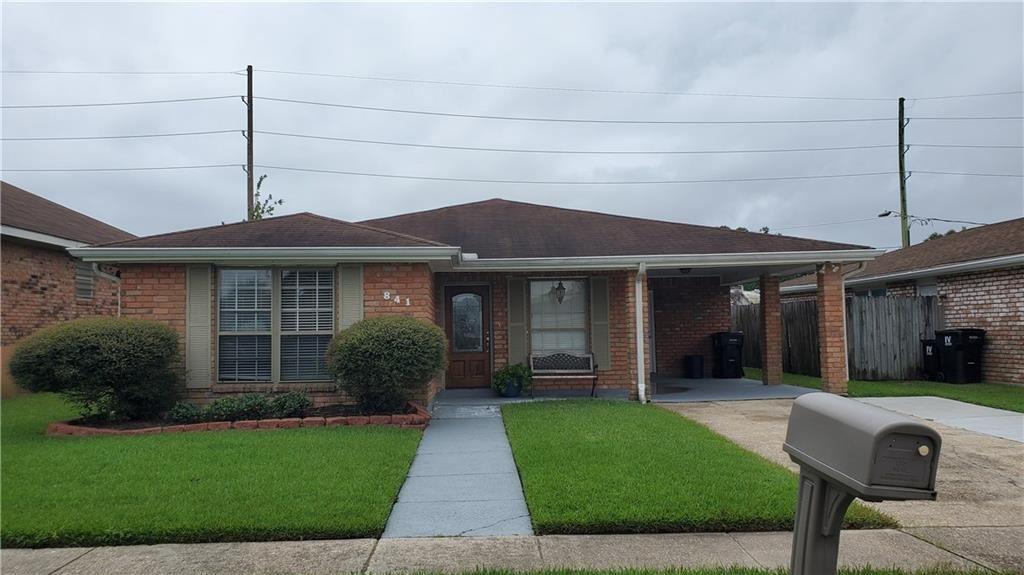 841 RONSON Drive, Kenner, LA 70065 - #: 2271438