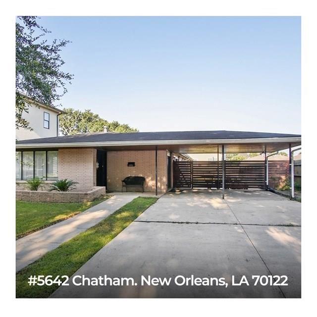 5642 CHATHAM Drive, New Orleans, LA 70122 - #: 2262862