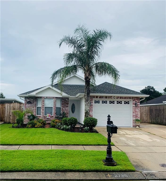 2725 BAYOU BLACK Drive, Marrero, LA 70072 - #: 2225898