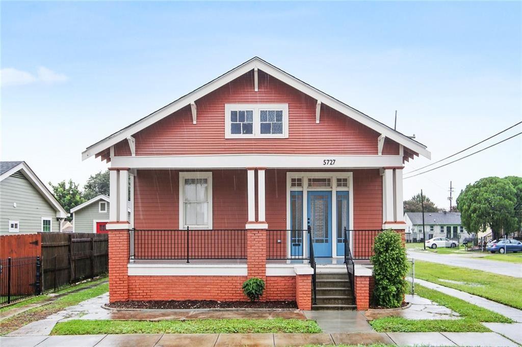 5727 BURGUNDY Street, New Orleans, LA 70117 - #: 2291961
