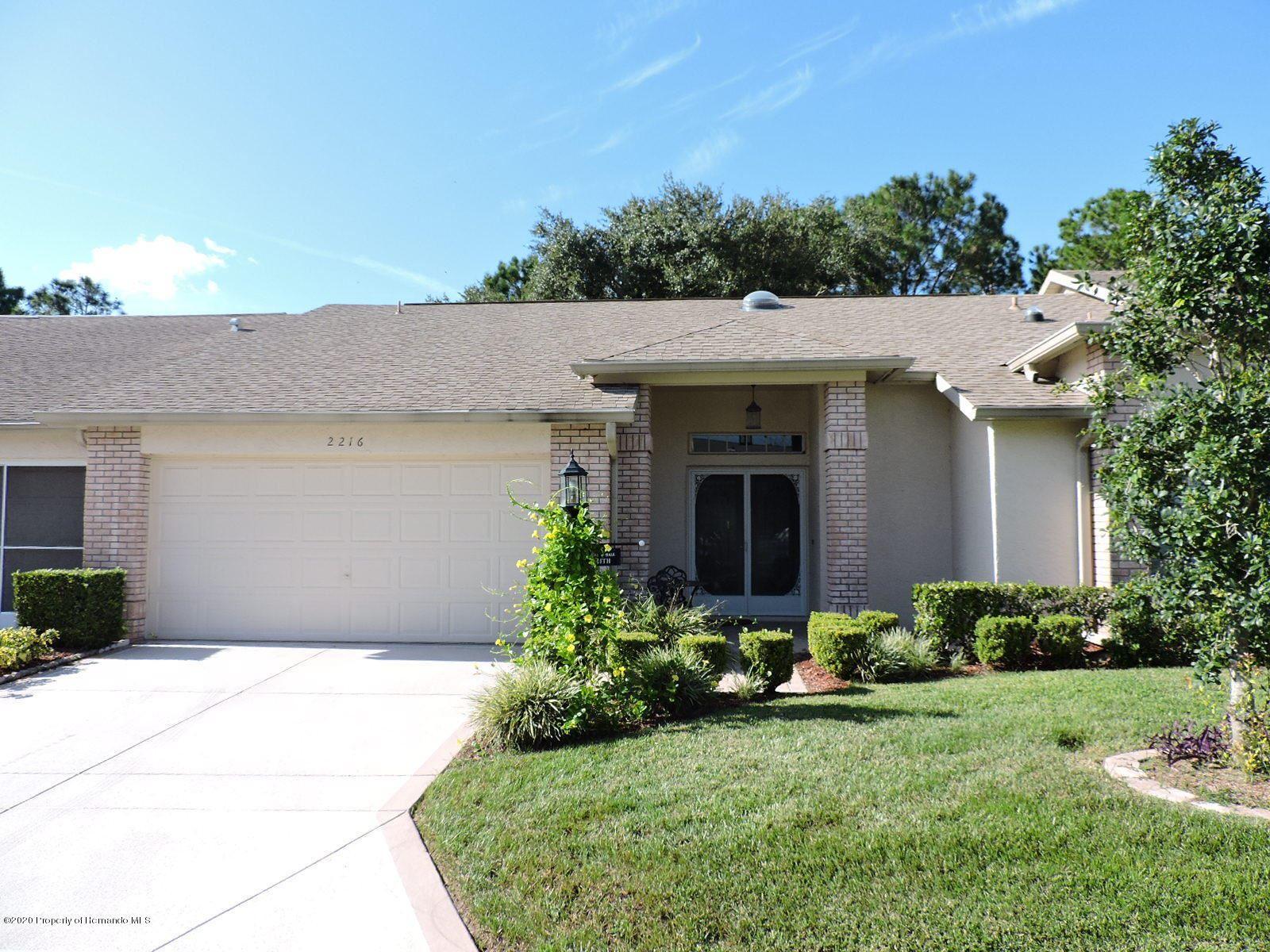 2216 Springmeadow Drive, Spring Hill, FL 34606 - MLS#: 2212069