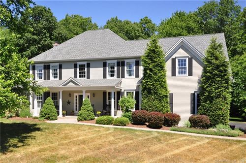 Photo of 11 Holcomb Hill Road, Granby, CT 06090 (MLS # 170269036)