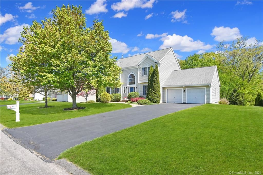 Photo for 73 Stone Hill Drive, Rocky Hill, CT 06067 (MLS # 170399043)