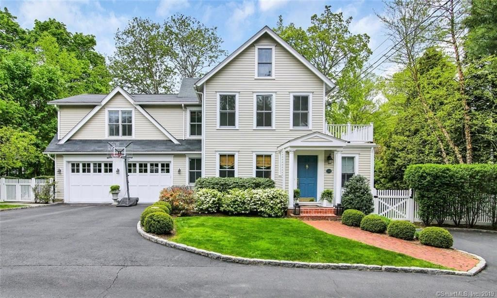 Photo for 93 Old Stamford Road, New Canaan, CT 06840 (MLS # 170195074)