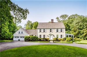 Photo of 398 Canoe Hill Road, New Canaan, CT 06840 (MLS # 170050105)