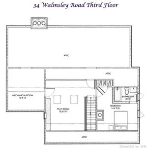 Tiny photo for 34 Walmsley Road, Darien, CT 06820 (MLS # 170041145)