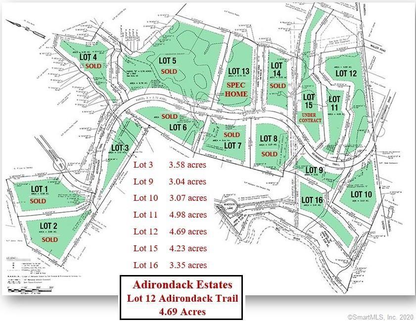 Lot 12 Adirondack Trail, Easton, CT 06612 - #: 170356167