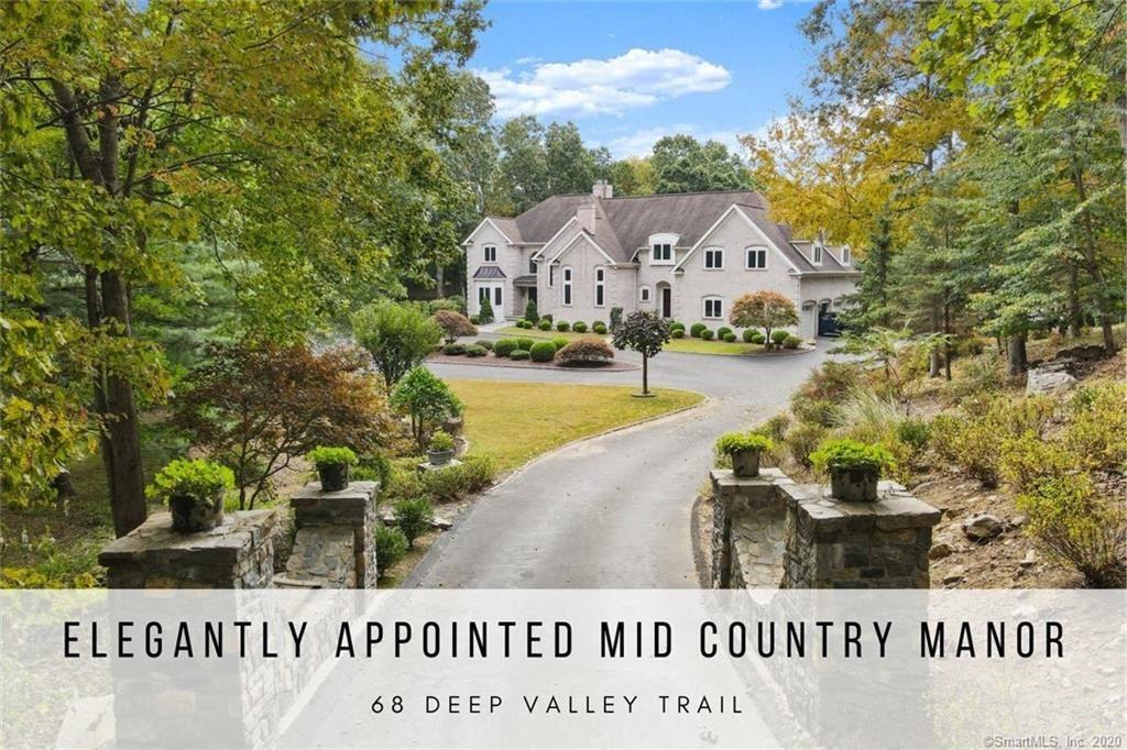 68 Deep Valley Trail, Stamford, CT 06903 - MLS#: 170342176