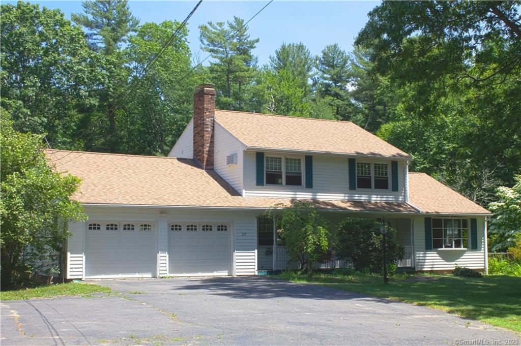 Photo for 215 Hebron Road, Andover, CT 06232 (MLS # 170308262)