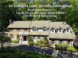 Photo of 26 Greenlea Lane, Weston, CT 06883 (MLS # 170087332)