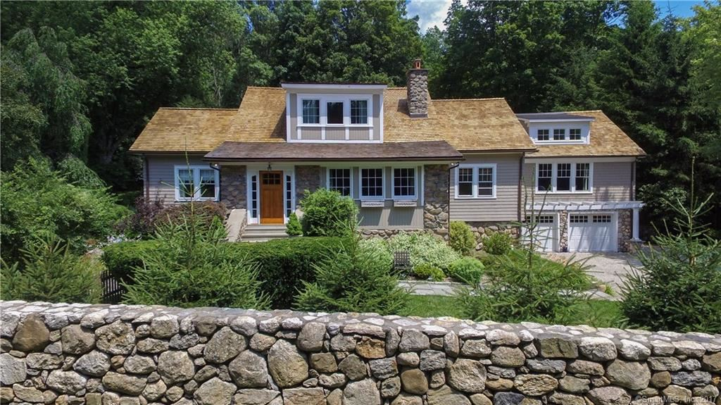 Photo for 558 Old Stamford Road, New Canaan, CT 06840 (MLS # 170039346)
