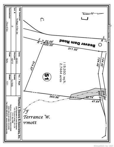 Photo of Lot 51 Beaver Dam Road #51, Killingworth, CT 06419 (MLS # 170387353)