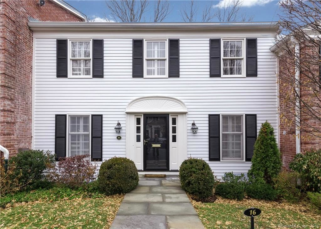 Photo for 312 Elm Street #16, New Canaan, CT 06840 (MLS # 170046396)