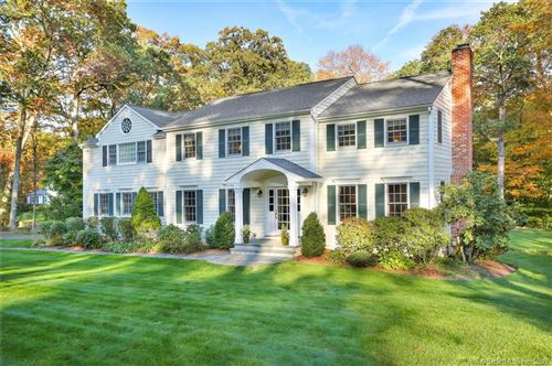 Photo of 559 Cheese Spring Road, New Canaan, CT 06840 (MLS # 170266410)