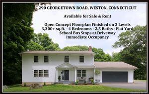 Photo of 290 Georgetown Road, Weston, CT 06883 (MLS # 170087454)