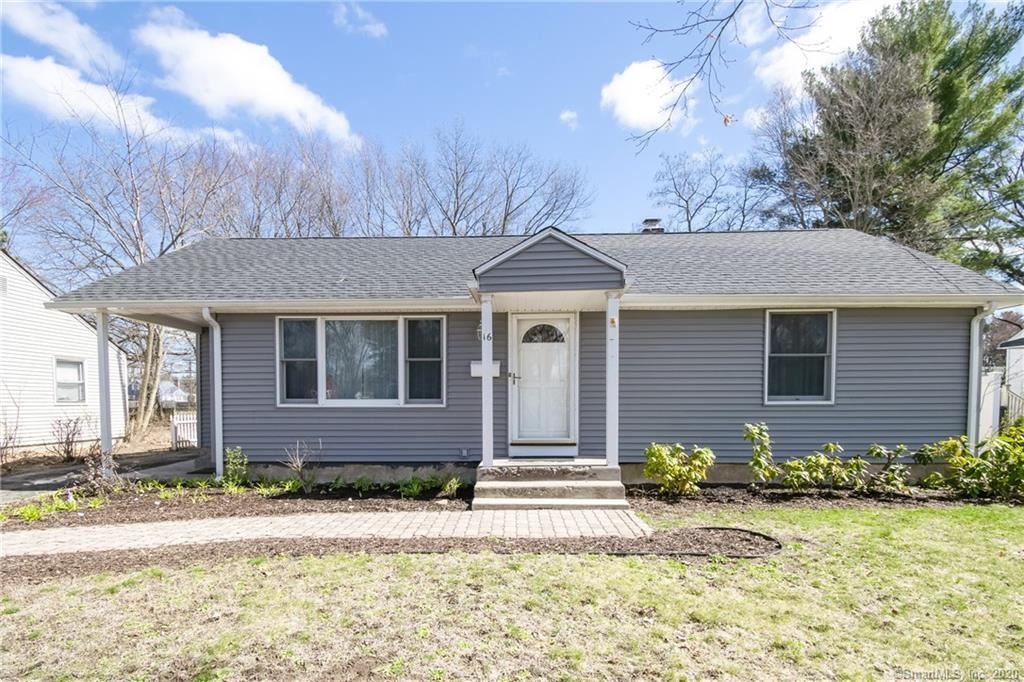Photo of 16 Pinecrest Drive, East Hartford, CT 06118 (MLS # 170284487)
