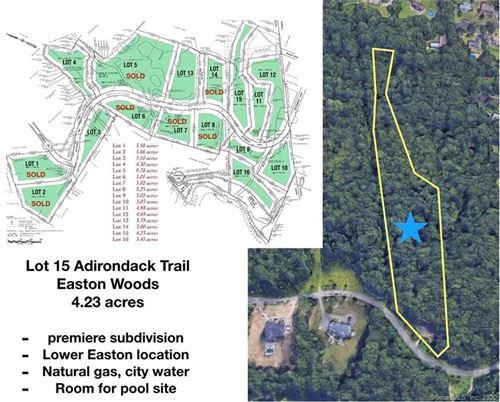 Photo of Lot 15 Adirondack Trail, Easton, CT 06612 (MLS # 170095594)