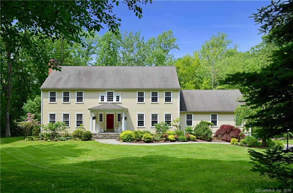 Photo for 135 Peaceable Hill Road, Ridgefield, CT 06877 (MLS # 170198600)