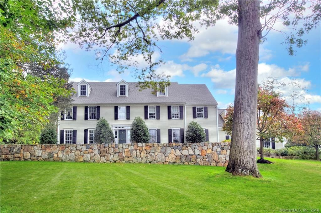 Photo for 62 Running Brook Lane, New Canaan, CT 06840 (MLS # 170028723)