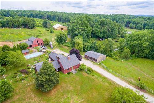 Photo of 1187 Quaddick Town Farm Road, Thompson, CT 06277 (MLS # 170319863)