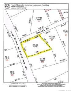 Photo of Lot 37-10 Deep River Road, Colchester, CT 06415 (MLS # 170162877)