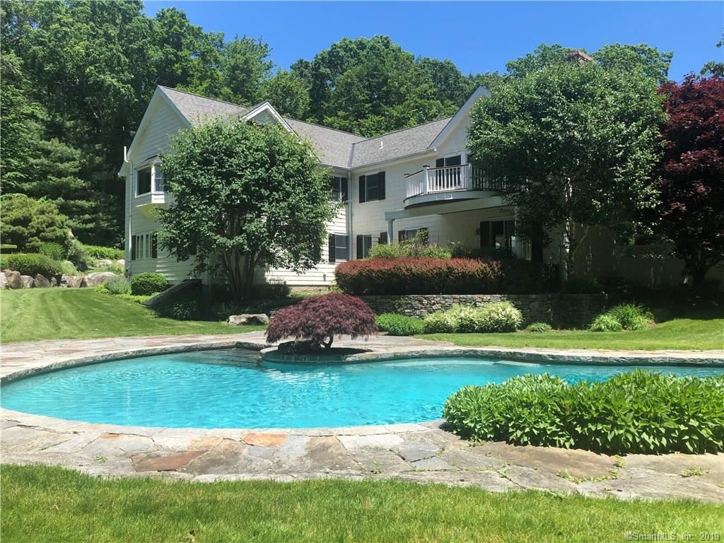 Photo for 116 Huckleberry Hill Road, New Canaan, CT 06840 (MLS # 170132884)