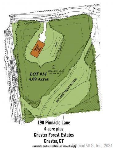 Photo of 190 Pinnacle Lane, Lot 14, Chester, CT 06412 (MLS # 170354914)