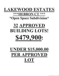 Photo of 0 Hillcrest Dr- Lakewood Estates, Hebron, CT 06248 (MLS # 170161936)