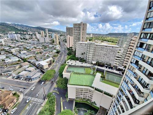 Photo of 2333 Kapiolani Boulevard #2605, Honolulu, HI 96826 (MLS # 202030097)