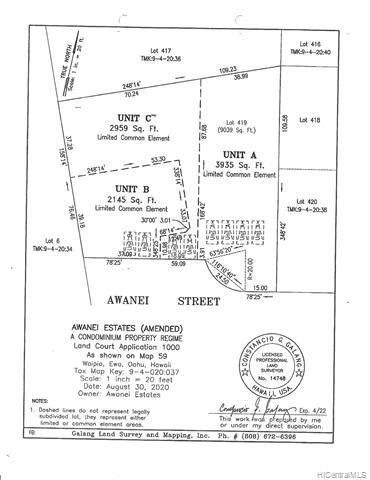 94-832 Awanei Street #C, Waipahu, HI 96797 - #: 202126109