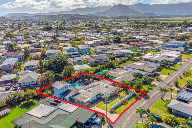 Photo of 531 Kaiemi Street, Kailua, HI 96734 (MLS # 202100195)