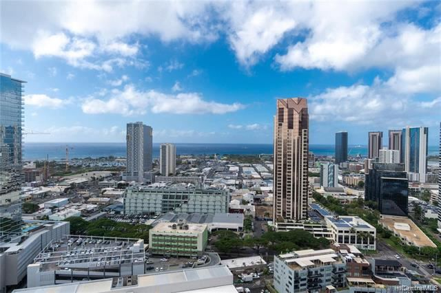 Photo of 801 S King Street #3303, Honolulu, HI 96813 (MLS # 202110426)