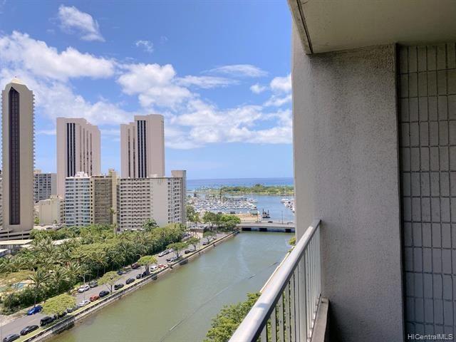 Photo of 1848 Kahakai Drive #1705, Honolulu, HI 96814 (MLS # 202115457)