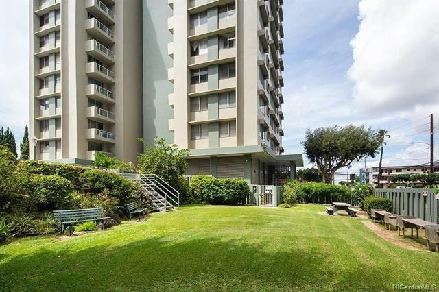 Photo of 2651 Kuilei Street #B75, Honolulu, HI 96826 (MLS # 202115463)