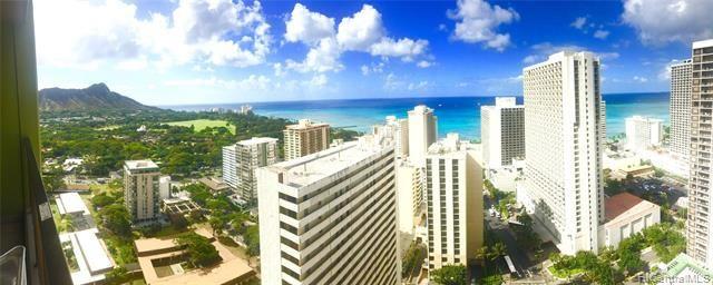 229 Paoakalani Avenue #3206 UNIT 3206, Honolulu, HI 96815 - #: 202004580