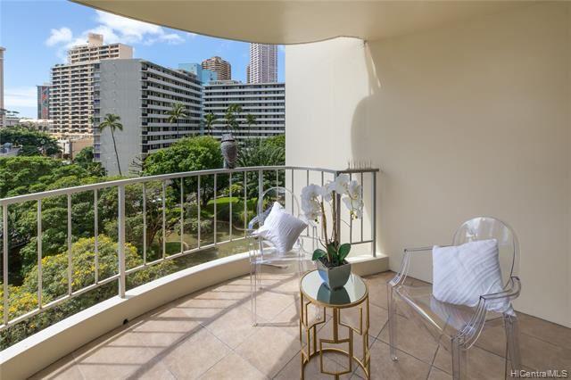 469 Ena Road #711 UNIT 711, Honolulu, HI 96815 - #: 202003689