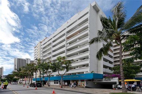 Tiny photo for 2463 Kuhio Avenue #608, Honolulu, HI 96815 (MLS # 202020712)