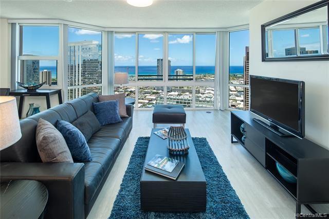 Photo of 801 S King Street #3803, Honolulu, HI 96813 (MLS # 202018717)