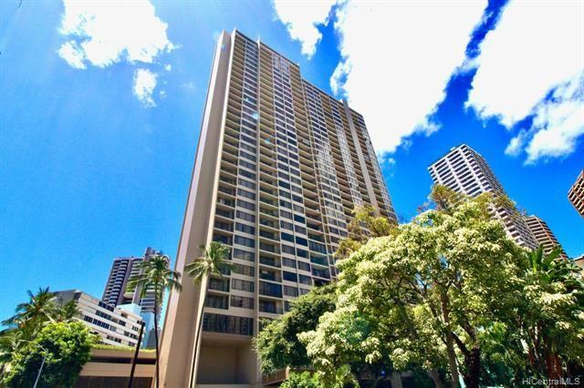 Photo of 411 Hobron Lane #2910, Honolulu, HI 96815 (MLS # 202115779)