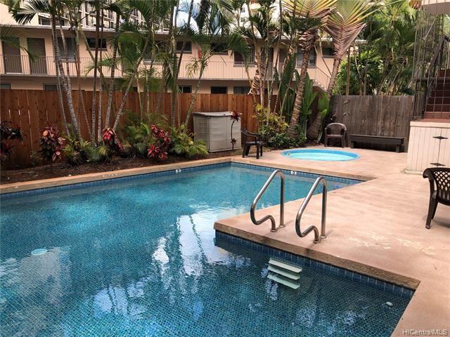 Photo of 1863 Kaioo Drive #403, Honolulu, HI 96815 (MLS # 202114804)