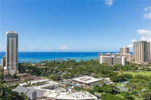Photo of 383 Kalaimoku Street #D2306 (Tower 2), Honolulu, HI 96815 (MLS # 202018927)