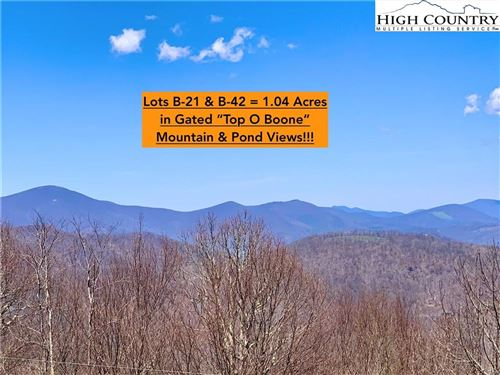 Photo of Lot B-21 & B-42 Running Deer Trail, Boone, NC 28607 (MLS # 231153)