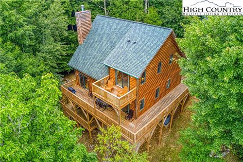 Photo of 107 Heather Lane, Beech Mountain, NC 28604 (MLS # 230947)