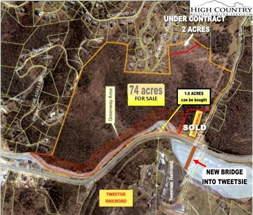 Tiny photo for TBD US Highway 321 South Highway, Blowing Rock, NC 28605 (MLS # 231957)