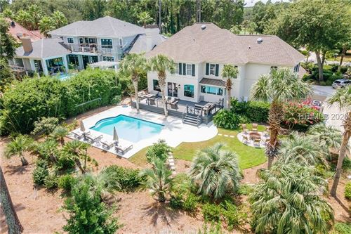 Photo of 9 Harrogate Drive, Hilton Head Island, SC 29928 (MLS # 406588)