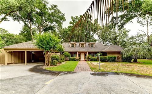 Photo of 10 Sovereign Drive, Hilton Head Island, SC 29928 (MLS # 402697)